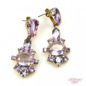 LILIEN(リリアン)Marlene Purple Oval Pierce