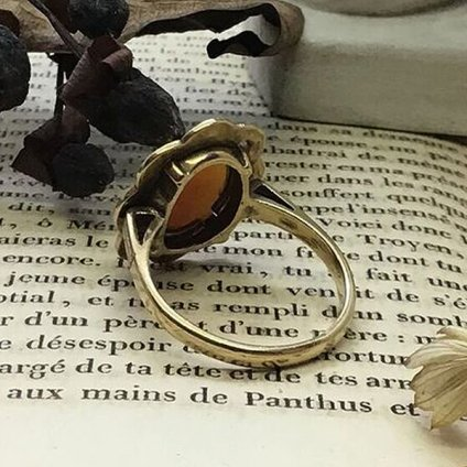1920's Cameo Ring (1920's カメオ リング)