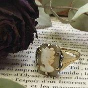 Edwardian Cameo Ring (エドワード時代 カメオ リング)