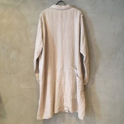 【30%OFF】ikkuna/suzuki takayuki potter's coat (イクナ/スズキタカユキ ポッターズコート) Nude