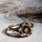 Victorian Sapphire Ring (ヴィクトリアンサファイアリング)