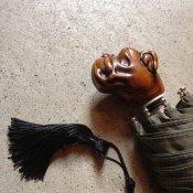 Guy de Jean (ギドゥジャン) 折りたたみ傘 ブルドッグ Khaki