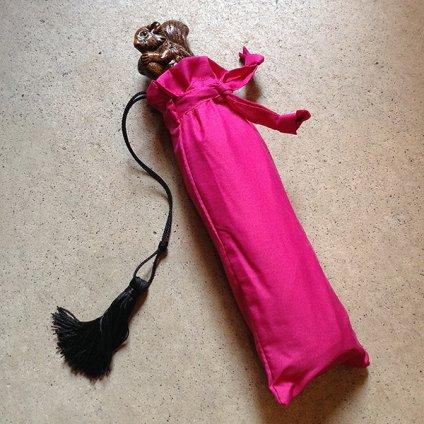 Guy de Jean (ギ ドゥ ジャン) 折りたたみ傘 リス Prune