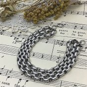 Edwardian Silver Bracelet (エドワーディアン シルバー ブレスレット)