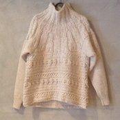 【30%OFF】suzuki takayuki hand-knitting pullover (スズキタカユキ ハンドニッティングプルオーバー ) Nude/Unisex