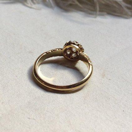 Georgian Diamond Antique Ring (ジョージアン ダイヤモンド アンティークリング)
