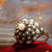 Victorian Pearl Antique Ring (ヴィクトリアン パール アンティークリング)