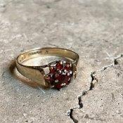 1910〜30s Garnet Antique Ring (1910〜30年代 ガーネット アンティークリング)