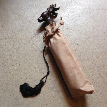 Guy de Jean (ギ ドゥ ジャン) 折りたたみ傘 シカ Red