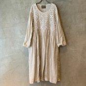 VINCENT JALBERT Lace Dress  (ヴィンセント ジャルベール レースドレス ) Beige