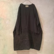 VINCENT JALBERT Large Army Patch Dress  (ヴィンセント ジャルベール アーミーパッチドレス ) Brown