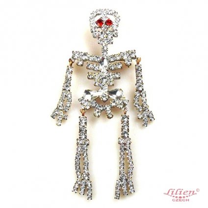 LILIEN(リリアン)Skeleton Brooch
