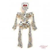 LILIEN(リリアン)Skeleton Brooch