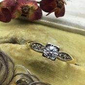 Victorian 18K Diamond Antique Ring(ヴィクトリアン 18K ダイアモンド アンティークリング)