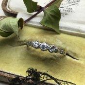 Victorian 18K Diamond Antique Ring (ヴィクトリアン 18K ダイアモンド アンティークリング)