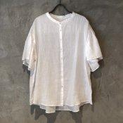ikkuna/suzuki takayuki flared-sleeve blouse(イクナ/スズキタカユキ フレアードスリーブブラウス) White