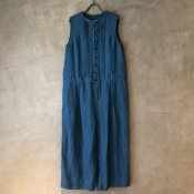 ikkuna/suzuki takayuki salopette(イクナ/スズキタカユキ サロペット) Turquoise Blue