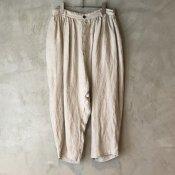 ikkuna/suzuki takayuki charro pants(イクナ/スズキタカユキ チャロパンツ)Nude