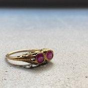 Victorian Ruby Antique Ring (ヴィクトリアン ルビー アンティークリング)