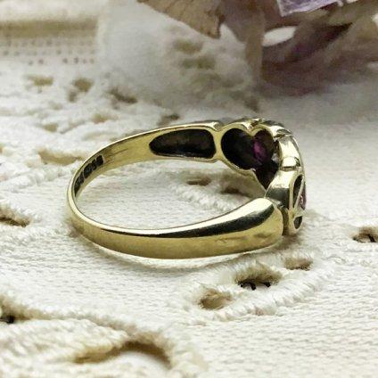 Victorian Diamond Ruby Antique Ring (ヴィクトリアン ダイヤモンド ルビー アンティークリング)
