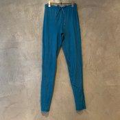 ikkuna/suzuki takayuki leggings(イクナ/スズキタカユキ レギンス)Turquoise blue
