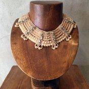 1950's Pearl×Rhinestone Collar(1950年代 パール×ラインストーン つけ襟)