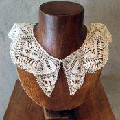 Victorian Needle Lace Collar(ヴィクトリア時代 ニードルレース つけ襟)
