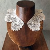 Victorian Irish Chroched Lace Collar(ヴィクトリア時代 アイリッシュクロッシェレース つけ襟)