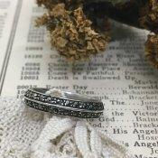 1930's Silver Marcasite Antique Ring (シルバー マーカサイトリング)