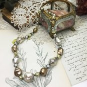 1950's Louis Rousselet Pearl Necklace (1950年代 ルイ ロスレー パールネックレス)