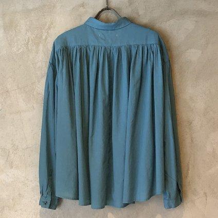 ikkuna/suzuki takayuki shirt (イクナ/スズキタカユキ シャツ) Turquoise Blue