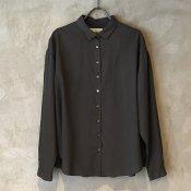 ikkuna/suzuki takayuki shirt (イクナ/スズキタカユキ シャツ)  Charcoal Gray