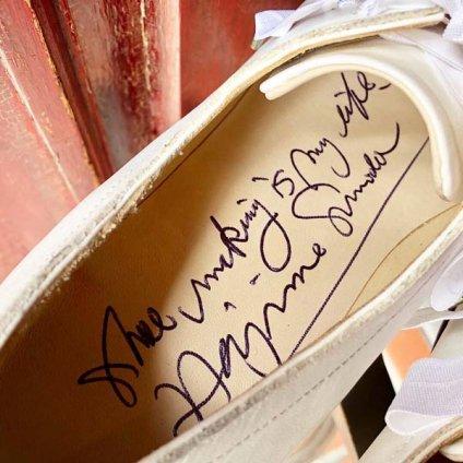 SONOMITSU Lace Up Ribbon Shoes(ソノミツ レースアップリボンシューズ)White