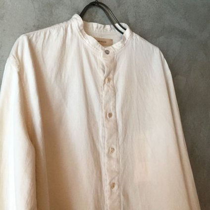 suzuki takayuki peasant shirt(スズキタカユキ ペザント シャツ)Nude/Men's