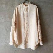 【20%OFF】suzuki takayuki peasant shirt (スズキタカユキ ペザント シャツ) Nude/Men's