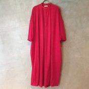 suzuki takayuki slip-on dress (スズキタカユキ スリップオンドレス) Red