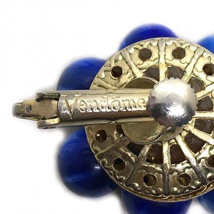 Vendome (ヴァンドーム) ブルー イヤリング
