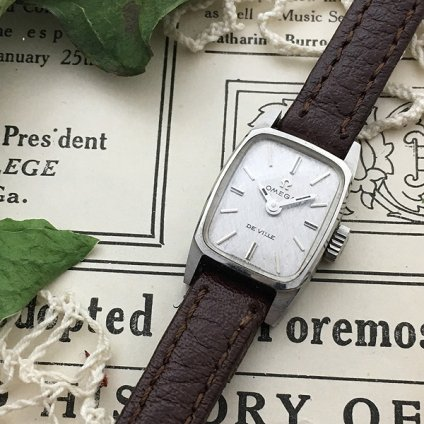 OMEGA DE VILLE(オメガ デビル)Textured Dial 純正尾錠付き