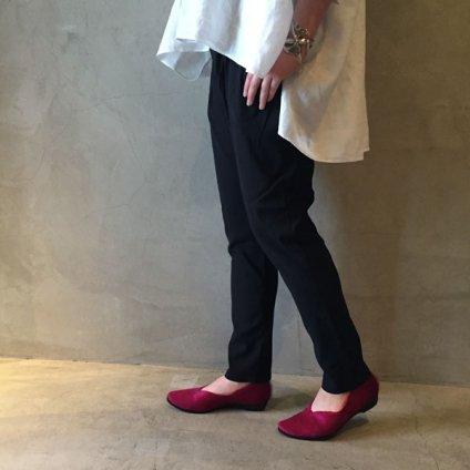 suzuki takayuki stretch pants  (スズキタカユキ ストレッチパンツ) Black