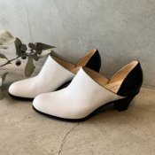 SONOMITSU(ソノミツ)Bi-color Pumps White×Black