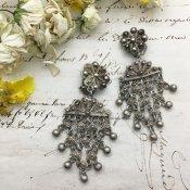 1920's Silver Earrings(1920年代 シルバー イヤリング)