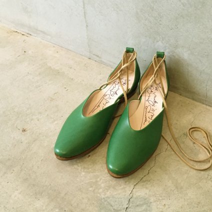 SONOMITSU(ソノミツ)Lace Up Shoes Green