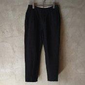 suzuki takayuki cropped pants  (スズキタカユキ クロップドパンツ) Black