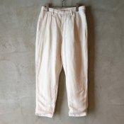 suzuki takayuki cropped pants  (スズキタカユキ クロップドパンツ) Nude