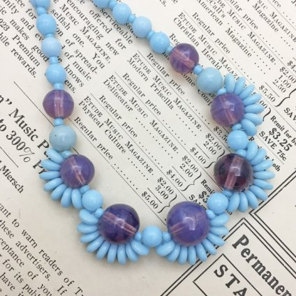 1930's Glass Necklace(1930年代 ガラスネックレス)