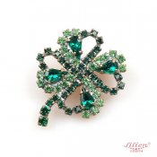LILIEN(リリアン)Clover Brooch_Green