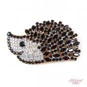 LILIEN(リリアン)Hedgehog Brooch_Black