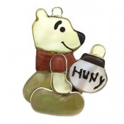 Paula Leekity Brooch Pendant top Winnie the Pooh (ポーラ リーキティ ブローチ・ペンダントトップ くまのプーさん)