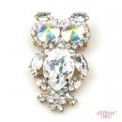 LILIEN(リリアン)Clear Owl Brooch