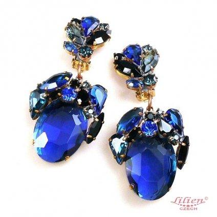 LILIEN(リリアン)Fiore Blue Earring